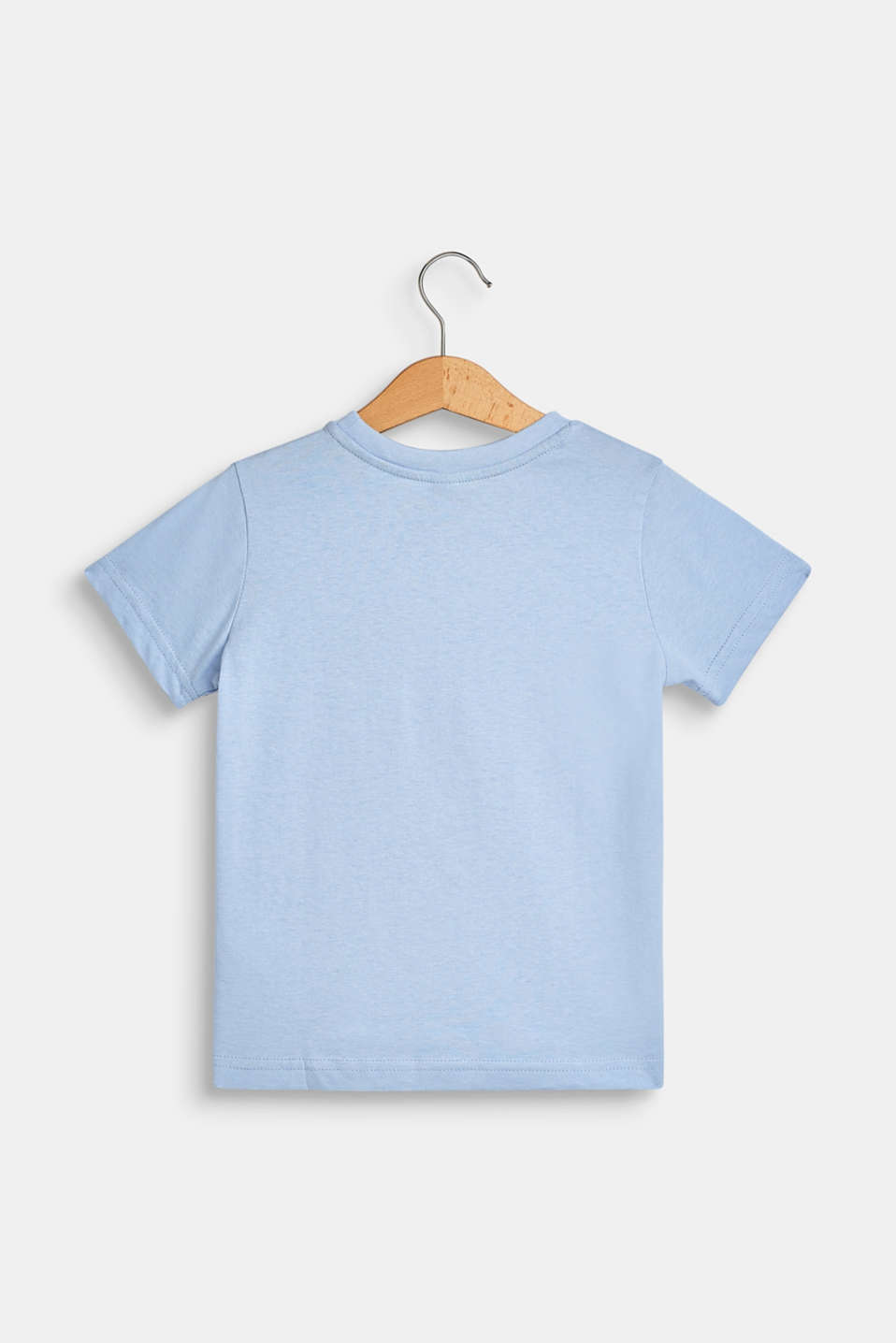 100% cotton T-shirt with a monkey print, SKY BLUE, detail image number 1