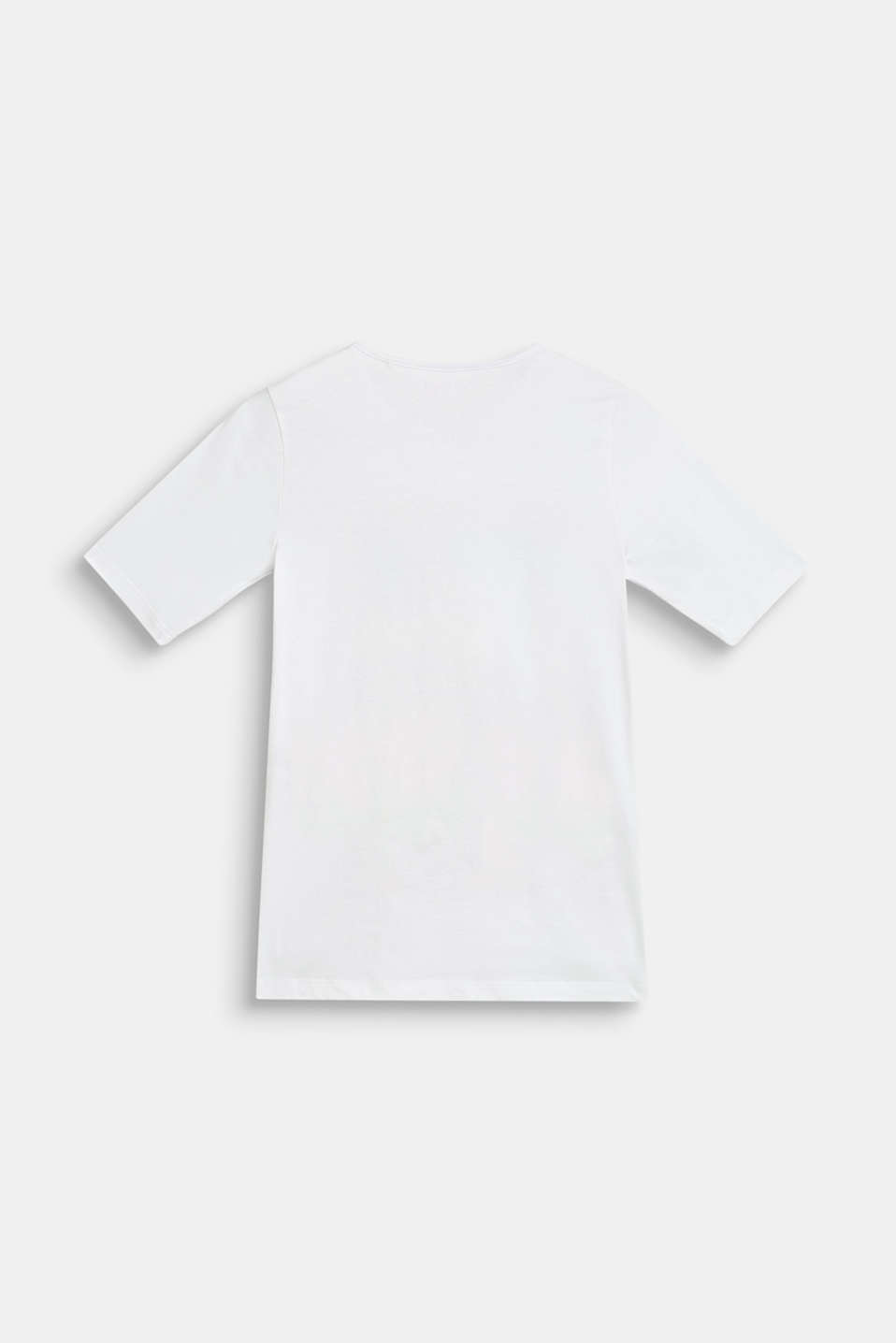 T-shirt with pool print, 100% cotton, LCWHITE, detail image number 1