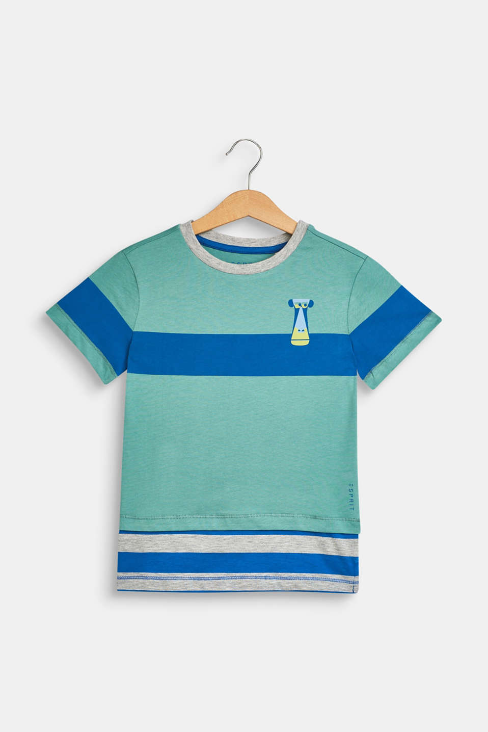 Esprit - 100% cotton T-shirt with a monkey print