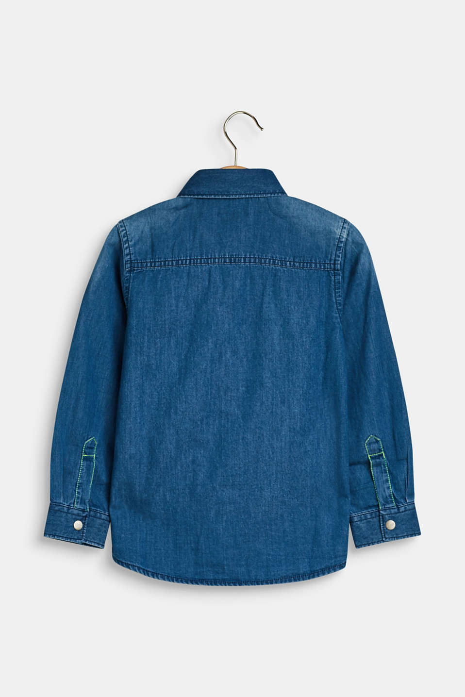 Shirts denim, LCMEDIUM WASH DE, detail image number 1