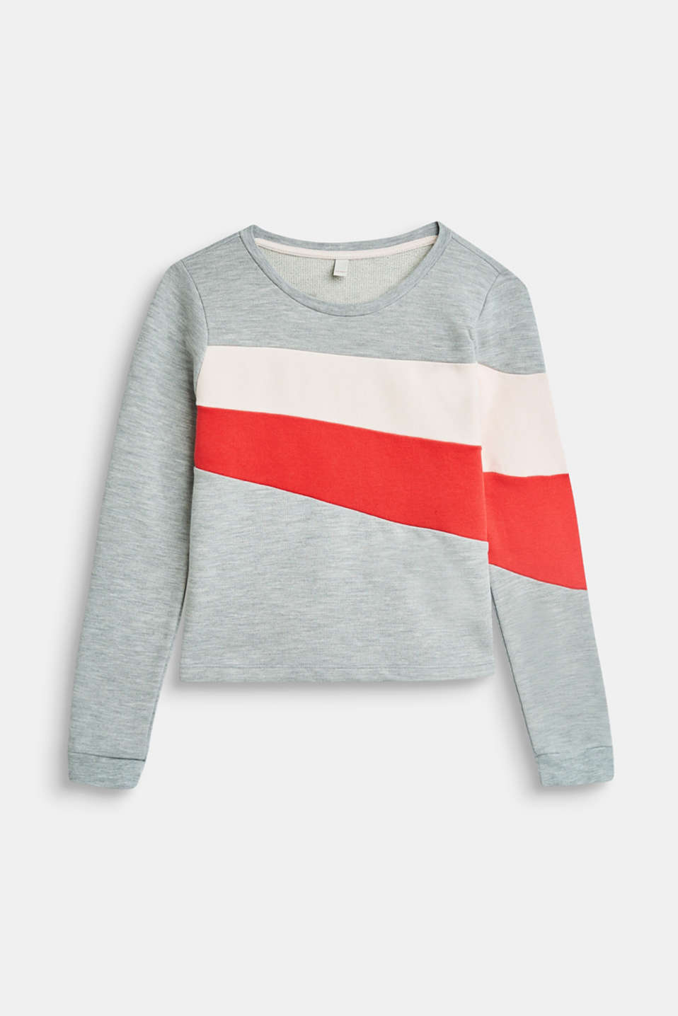 Esprit - Sweatshirt with colour blocking