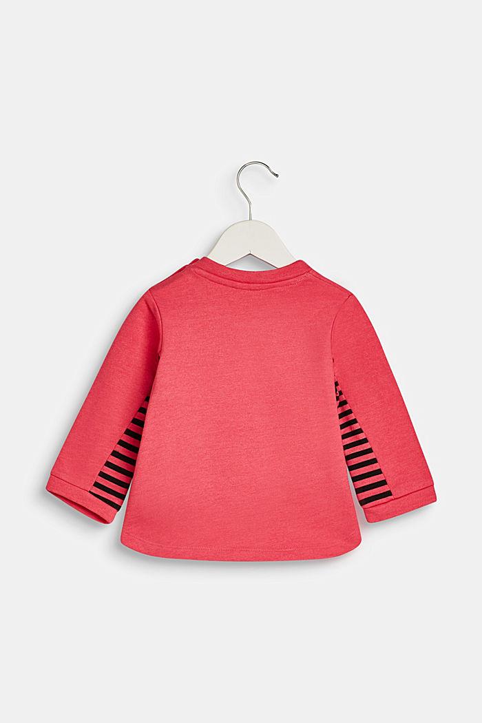 Sweatshirt mit Zebra-Print, LCDARK PINK, detail image number 1