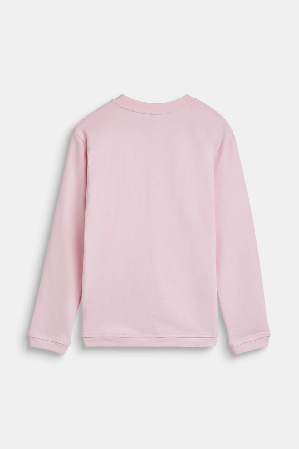 Sweatshirt with a metallic print, 100% cotton, LCLIGHT PINK, detail image number 1