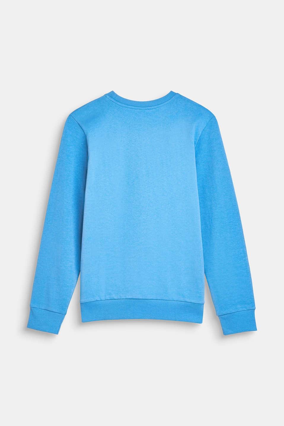 Sweatshirts, LCAZUR BLUE, detail image number 1