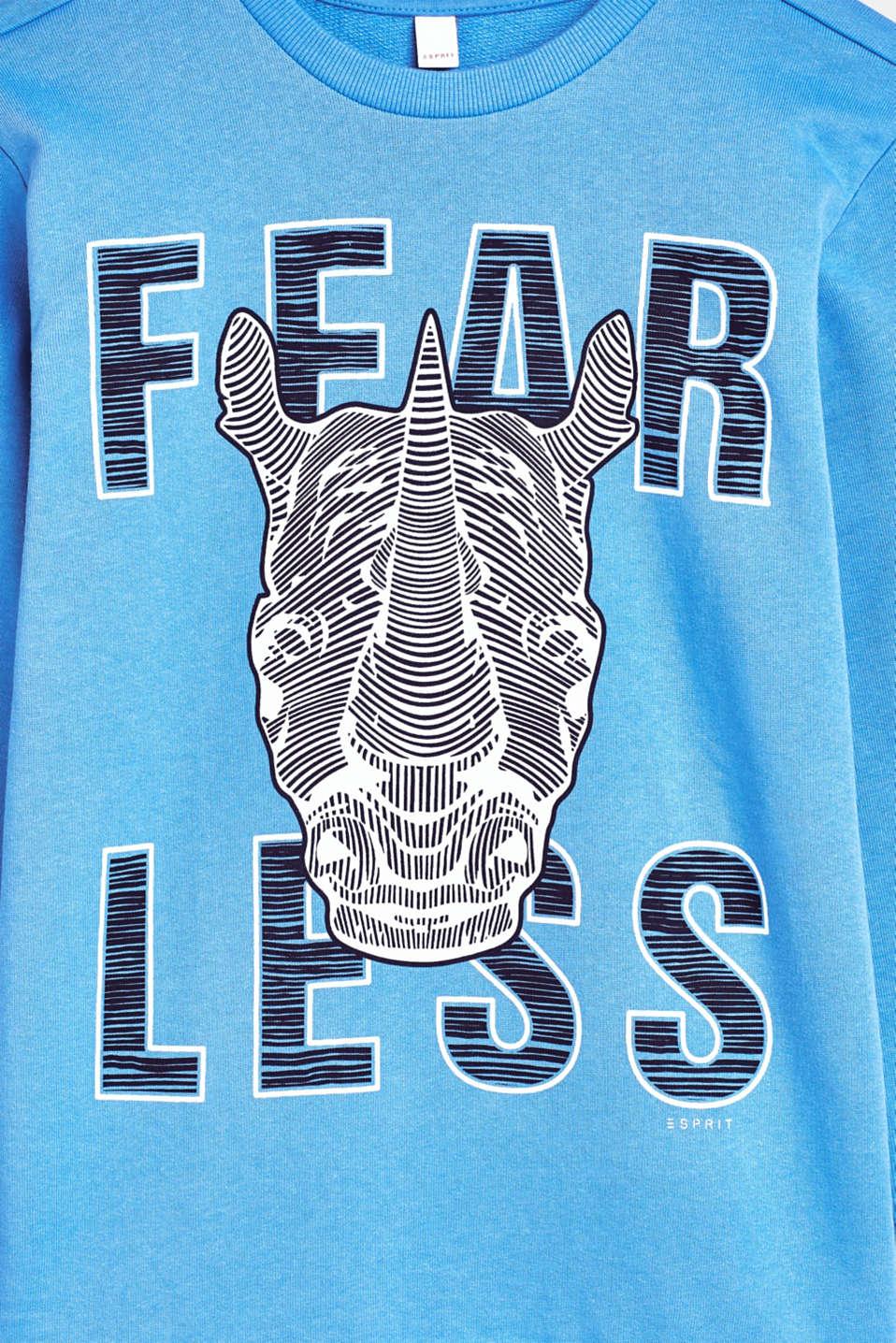 Sweatshirts, LCAZUR BLUE, detail image number 3