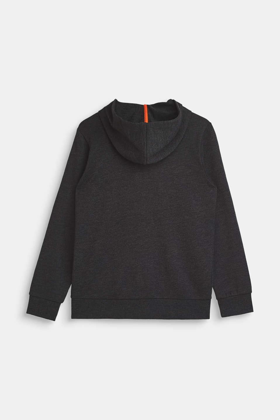 Sweatshirts cardigan, LCHEATHER ANTHRA, detail image number 1
