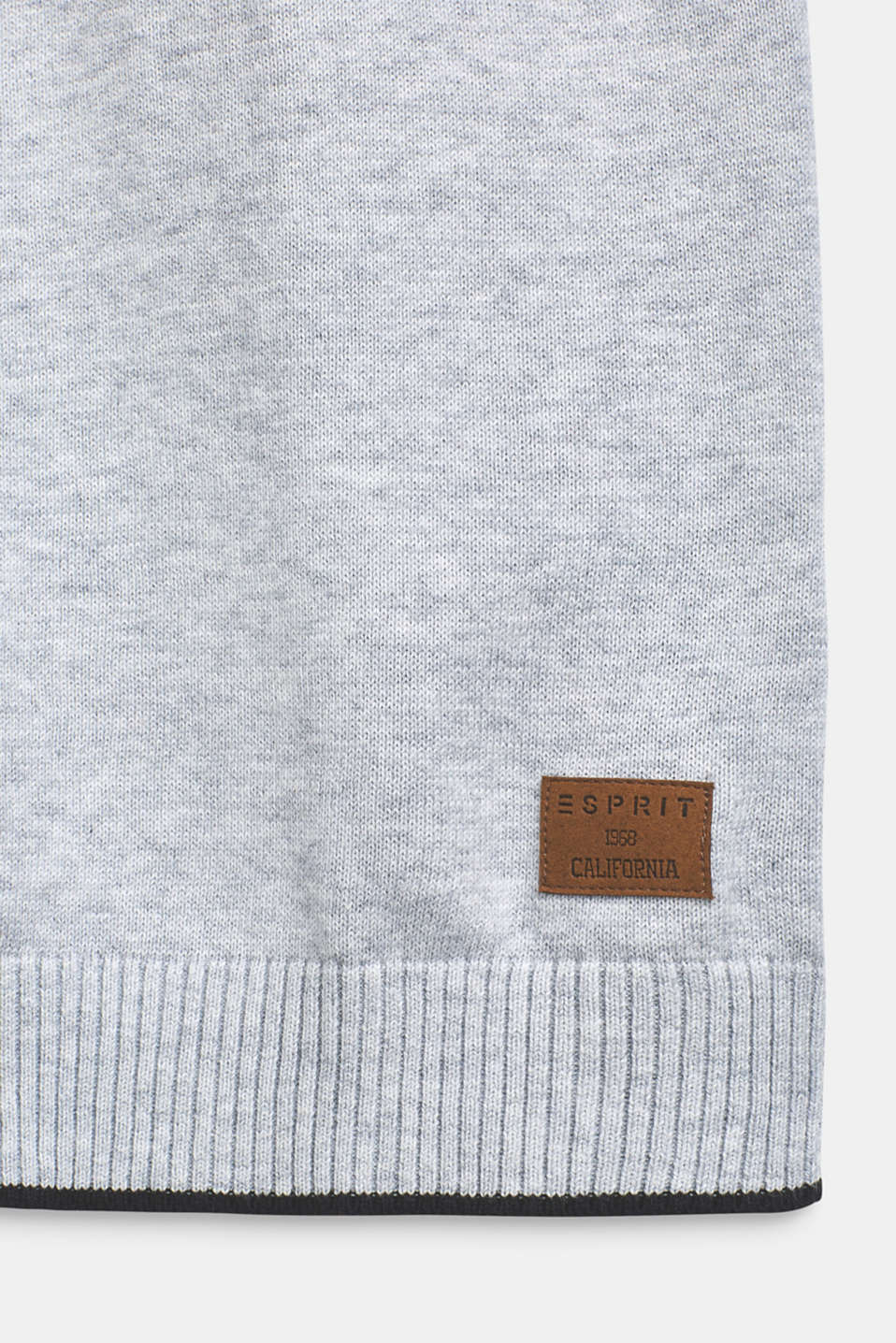 Sweaters, LCHEATHER SILVER, detail image number 3