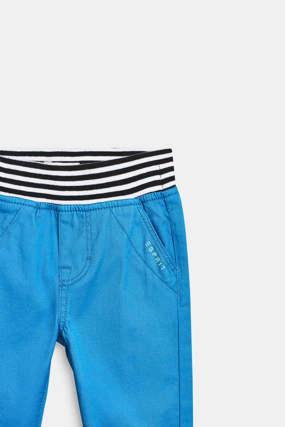 Pants woven, LCAZUR BLUE, detail image number 1