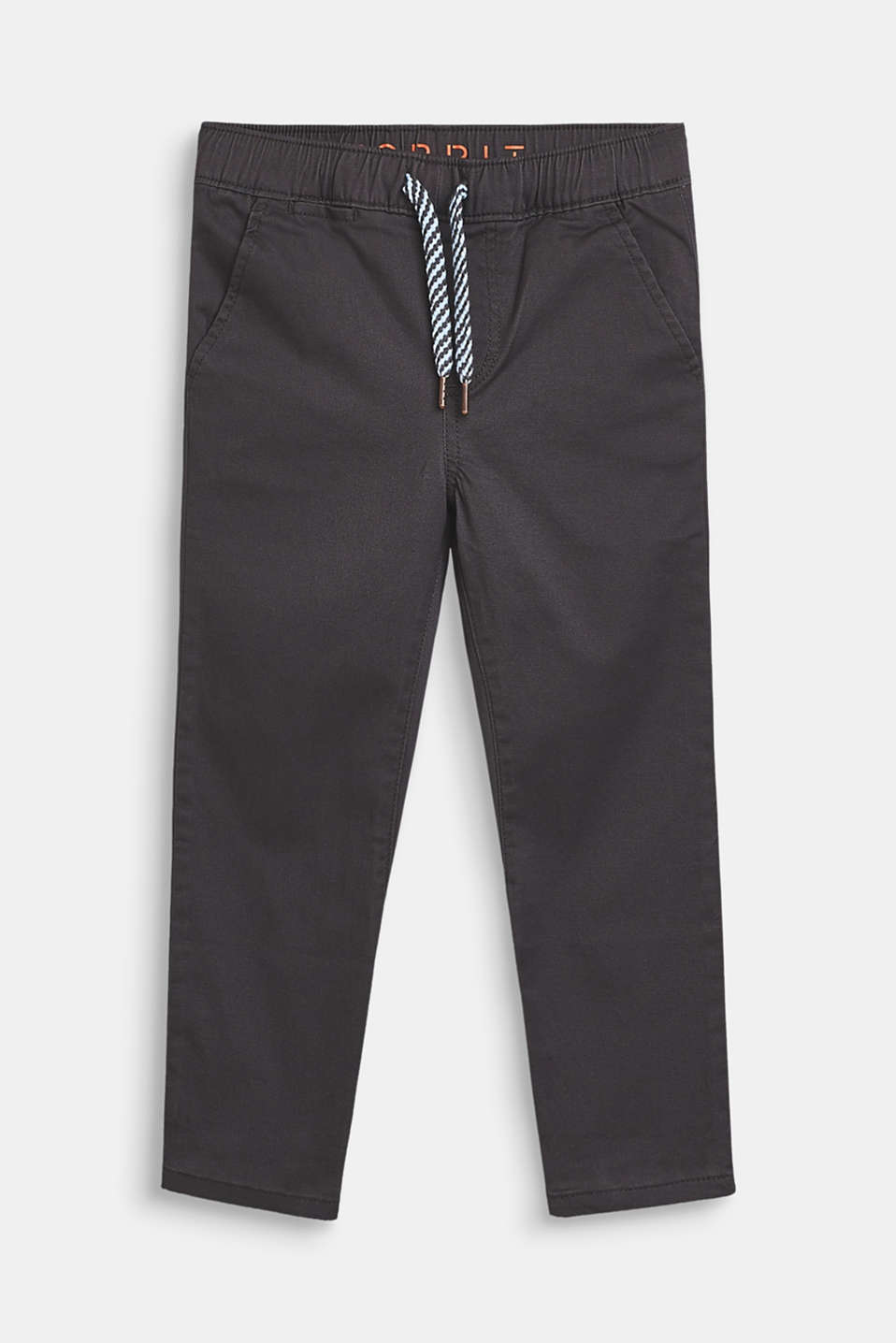 Esprit - Stretch cotton tracksuit bottoms