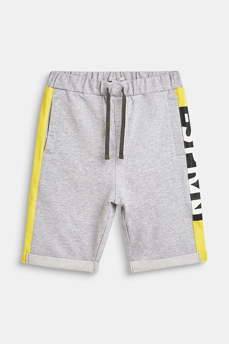 Esprit - Sweat-shorts med statement-print