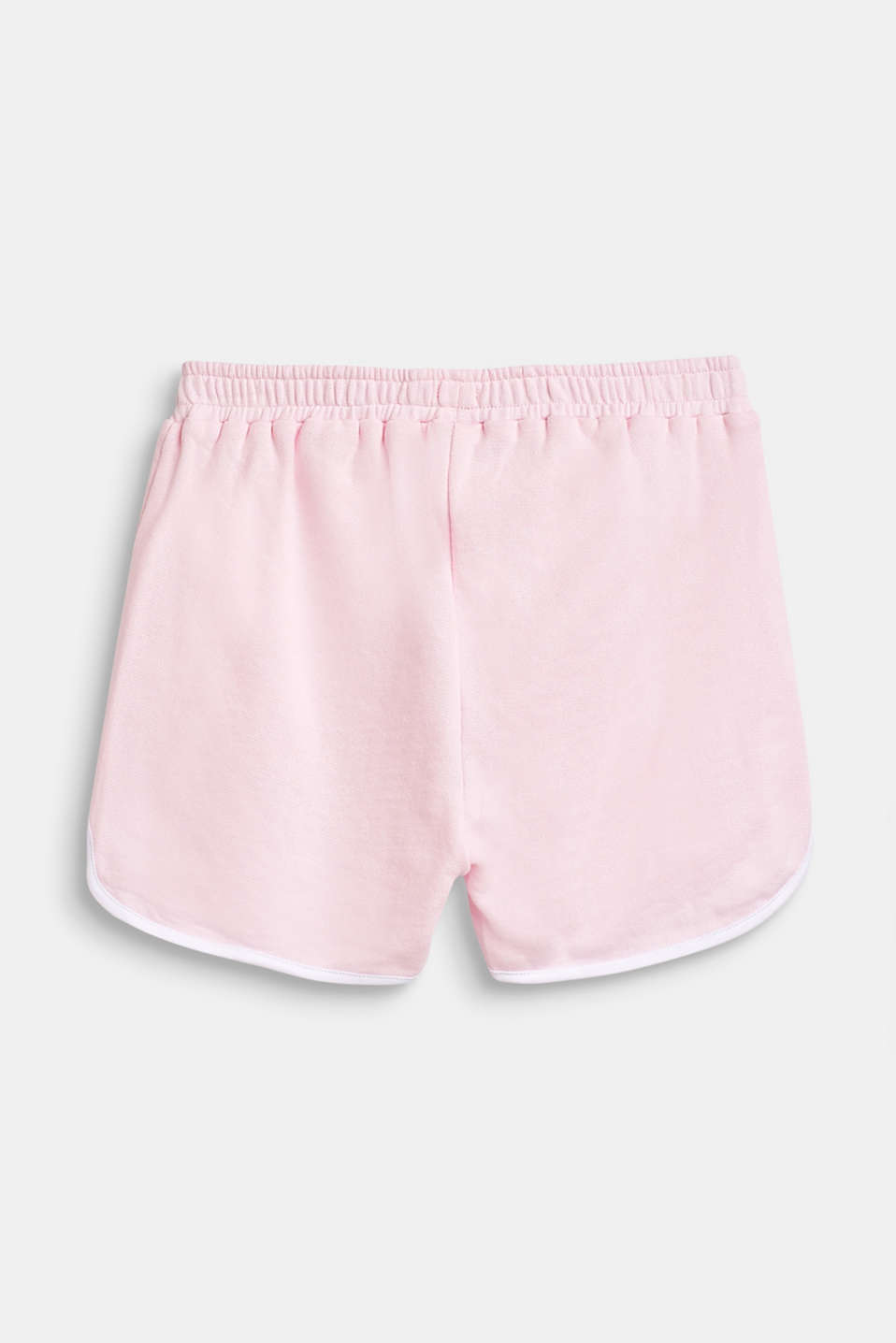 Sweatshirt shorts with piping, 100% cotton, LCBLUSH, detail image number 1