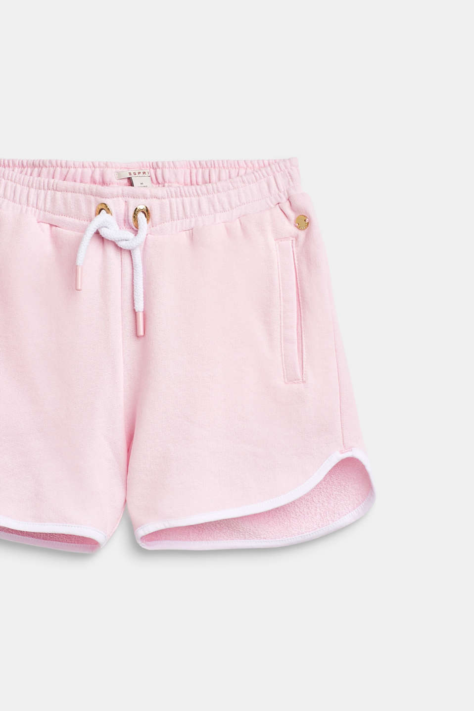 Sweatshirt shorts with piping, 100% cotton, LCBLUSH, detail image number 3