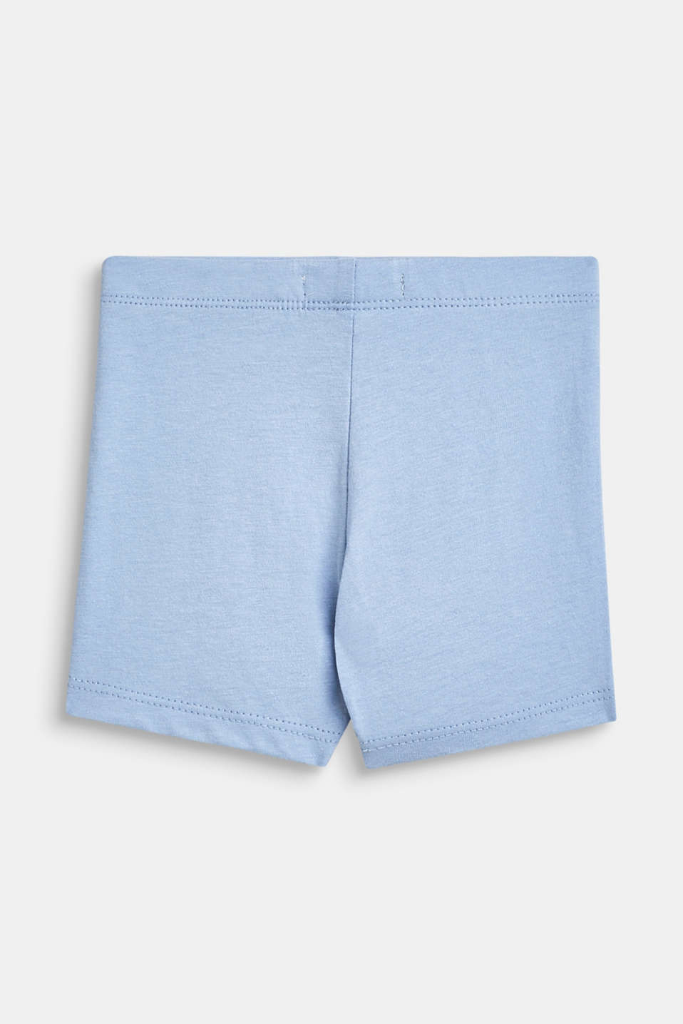 Jersey shorts with an animal motif, 100% cotton, LCSKY BLUE, detail image number 1