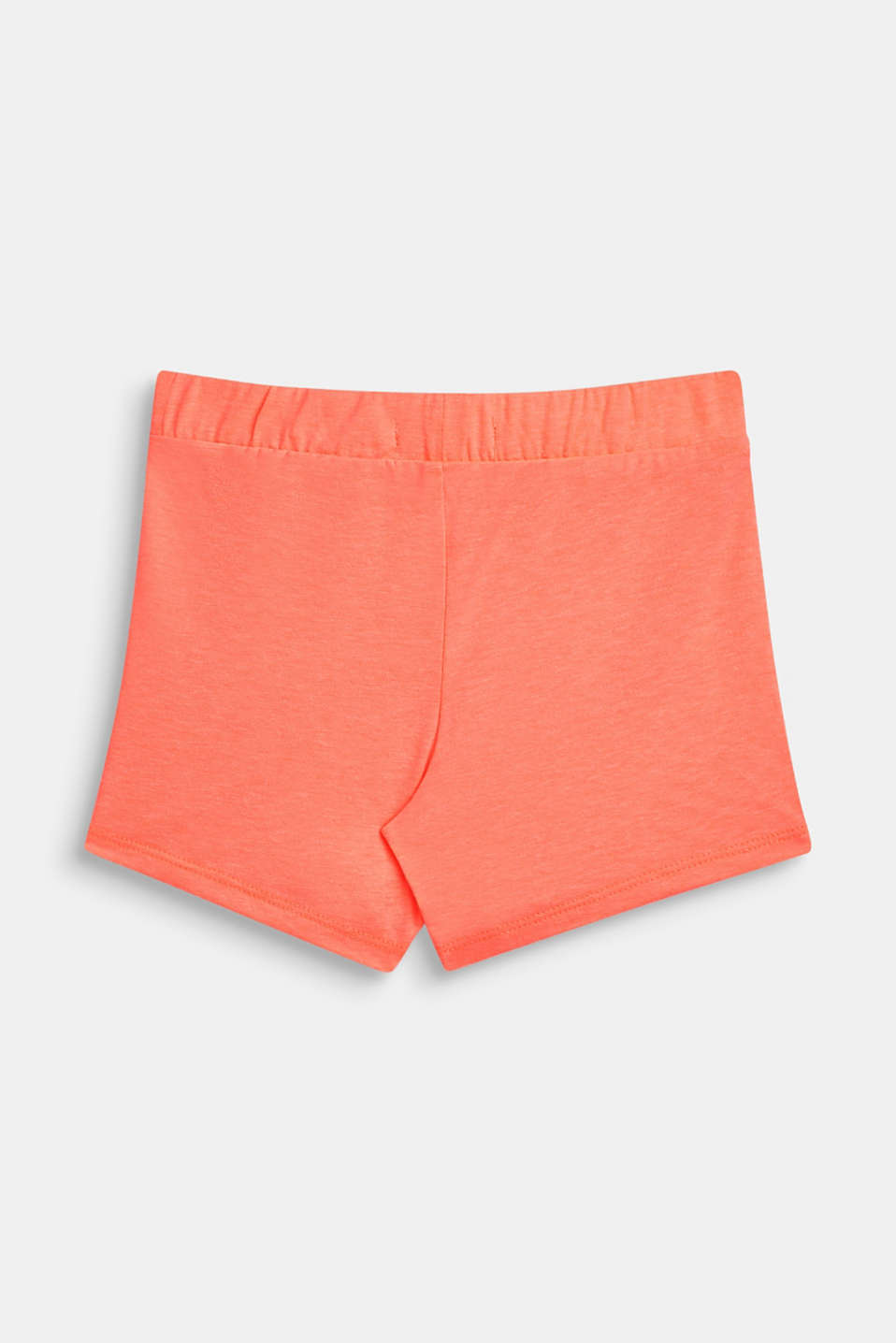 Shorts knitted, LCNEON CORAL, detail image number 1
