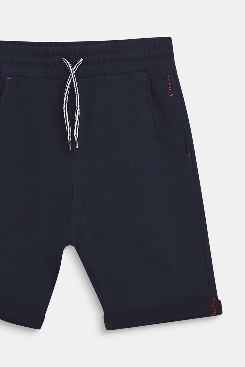 Shorts knitted, LCNAVY BLUE, detail image number 2