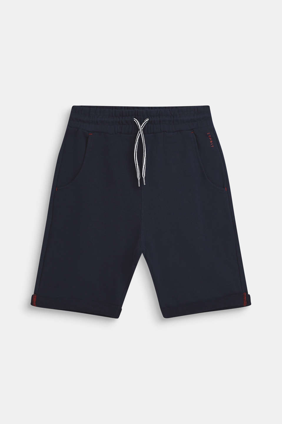 Esprit - Sweatshirt shorts in 100% cotton
