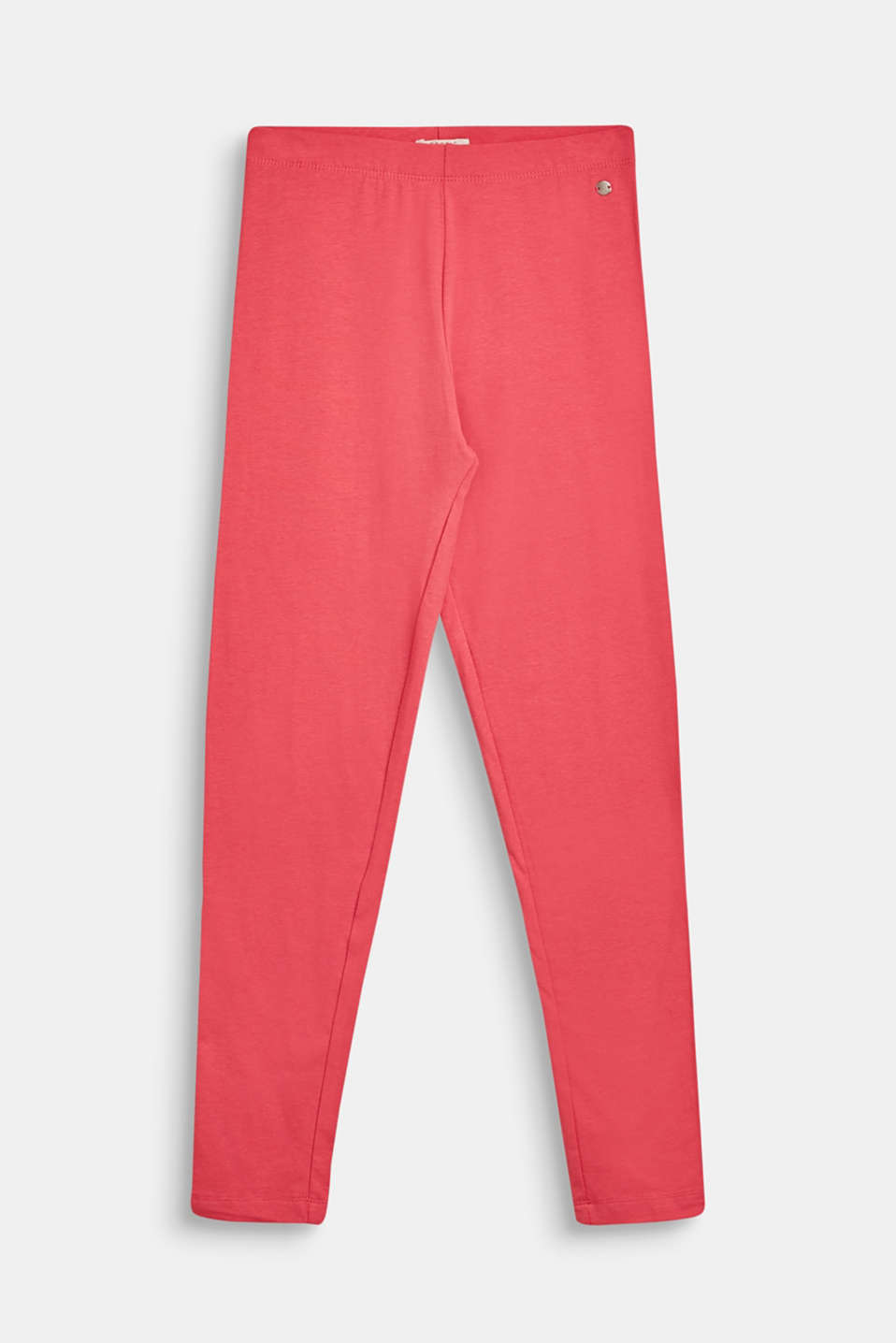Esprit - Leggings en coton au confort stretch