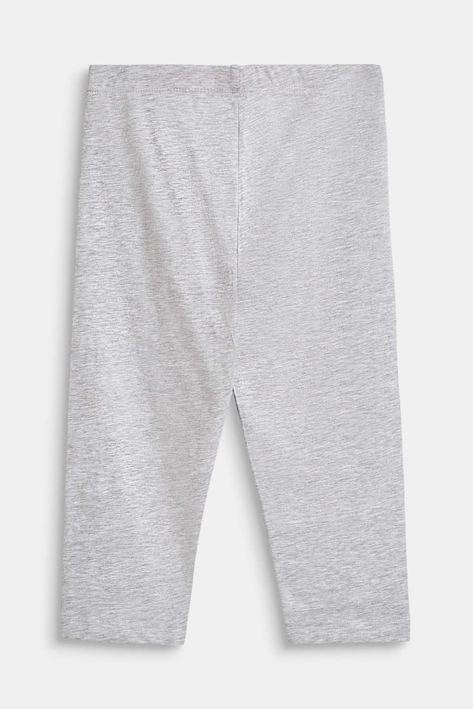 Pants knitted, LCHEATHER SILVER, detail image number 1
