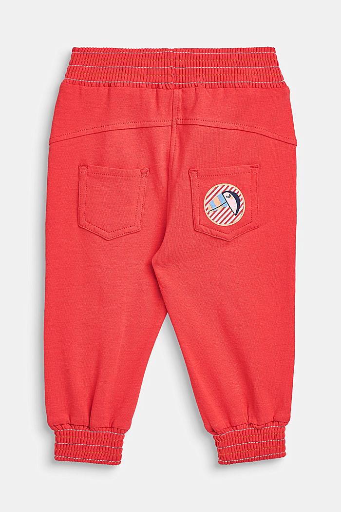 Jersey stretchbroek met elastische boordjes, LCWATERMELON, detail image number 1