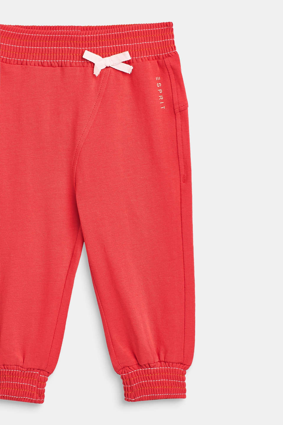 Stretch jersey trousers with elasticated cuffs, LCWATERMELON, detail image number 2