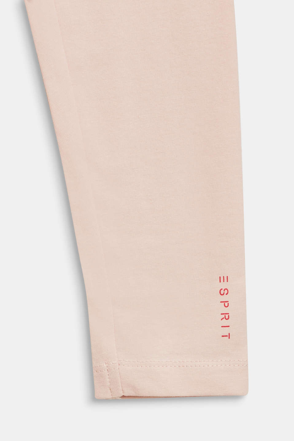 Stretch cotton leggings, BLUSH, detail image number 2