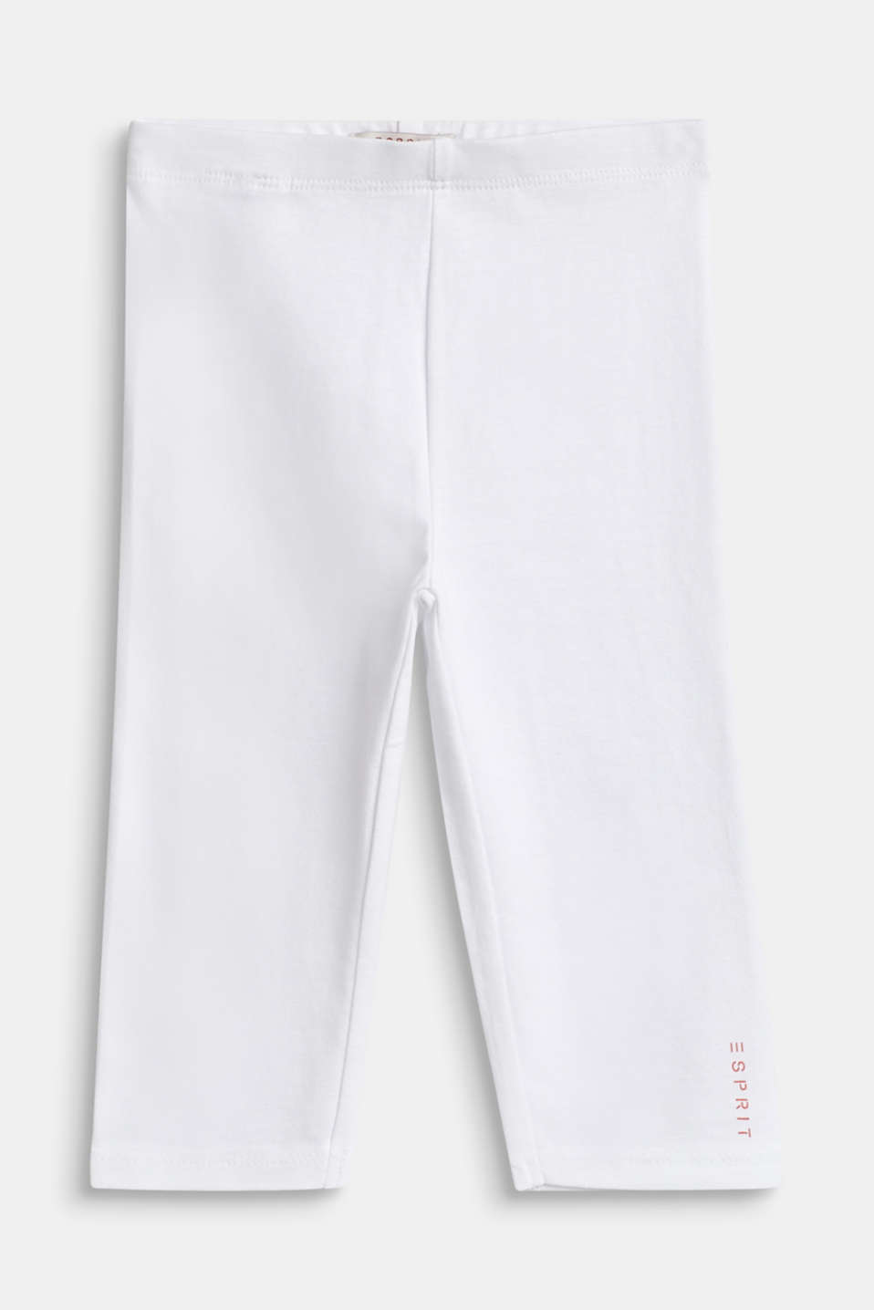 Esprit - Capri-leggings i bomuldsstretch