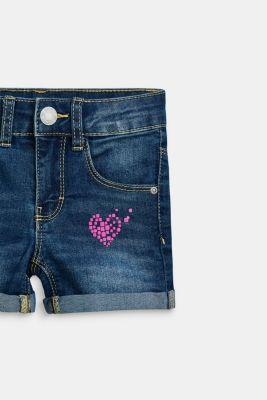 9e96b61556c068 Esprit - Jeans-Shorts mit Herz-Print und Verstellbund im Online Shop kaufen.  spv-main-image-thumb-alt. spv-main-image-thumb-alt. spv-main-image-thumb-alt