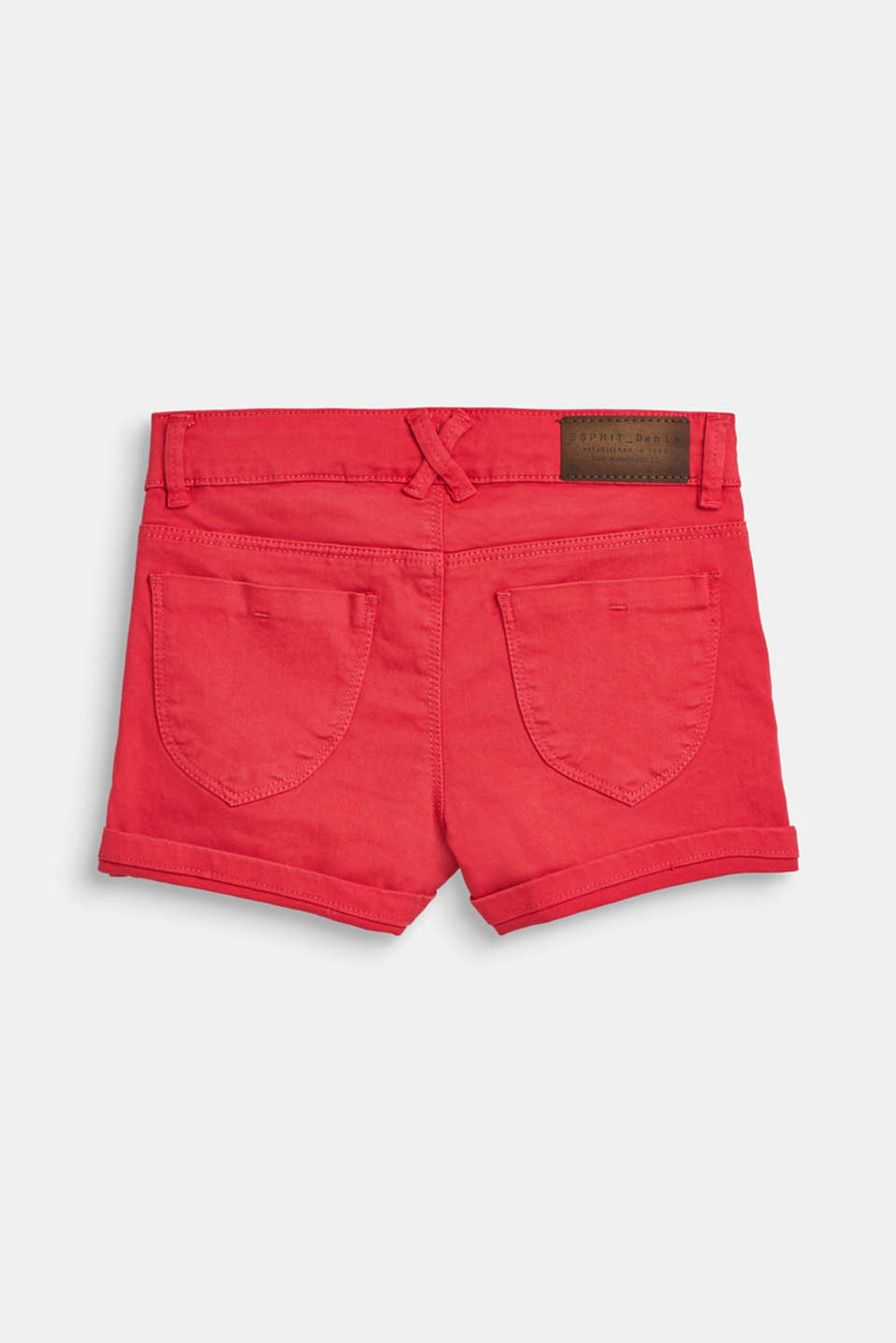 Coloured denim shorts with an adjustable waistband, LCWATERMELON, detail image number 1