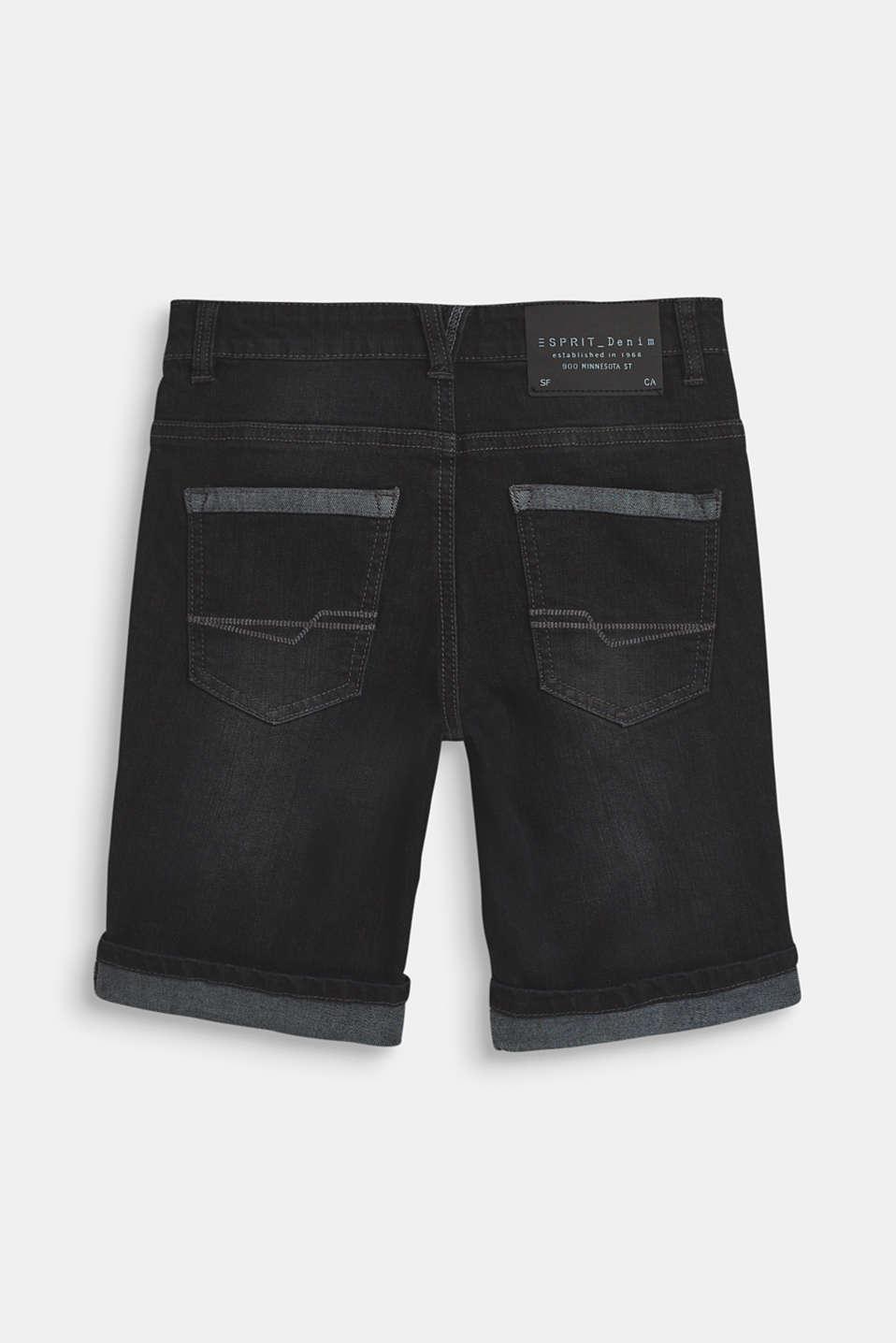Shorts denim, LCBLACK DENIM, detail image number 1