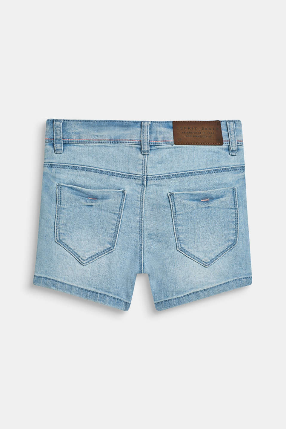 Shorts denim, LCBLEACHED DENIM, detail image number 1