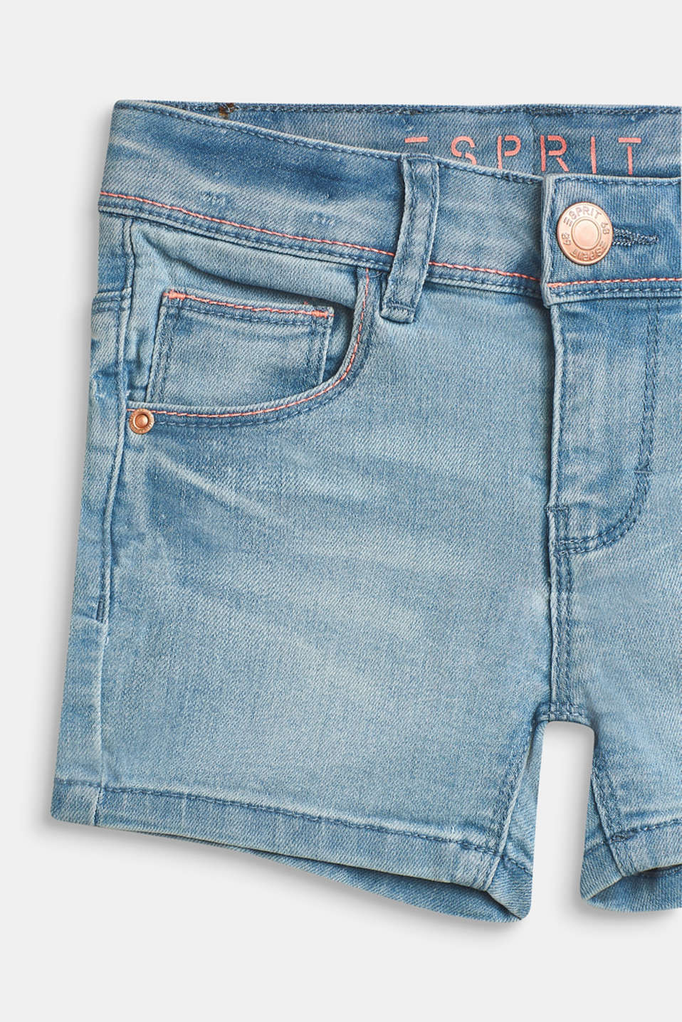 Shorts denim, LCBLEACHED DENIM, detail image number 2