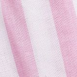 Striped woven shorts with a print, 100% cotton, CANDY PINK, swatch