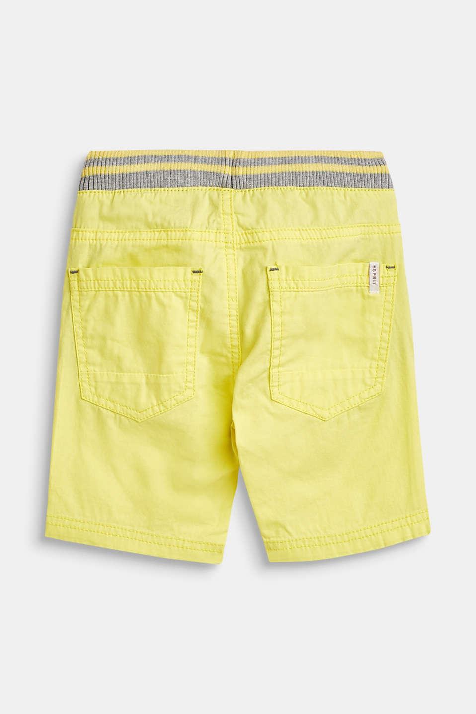 Shorts woven, LCLEMON DROP, detail image number 2