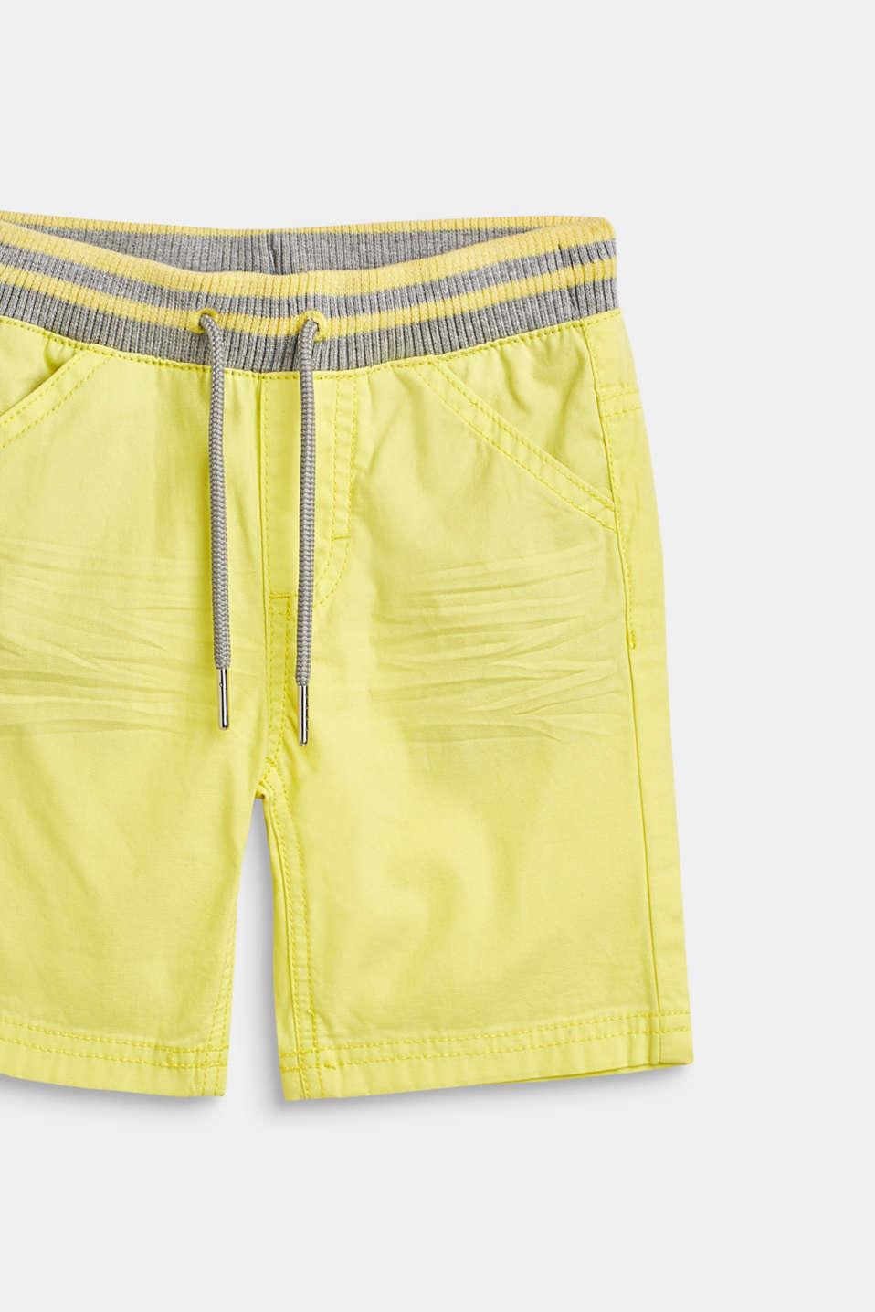 Shorts woven, LCLEMON DROP, detail image number 1