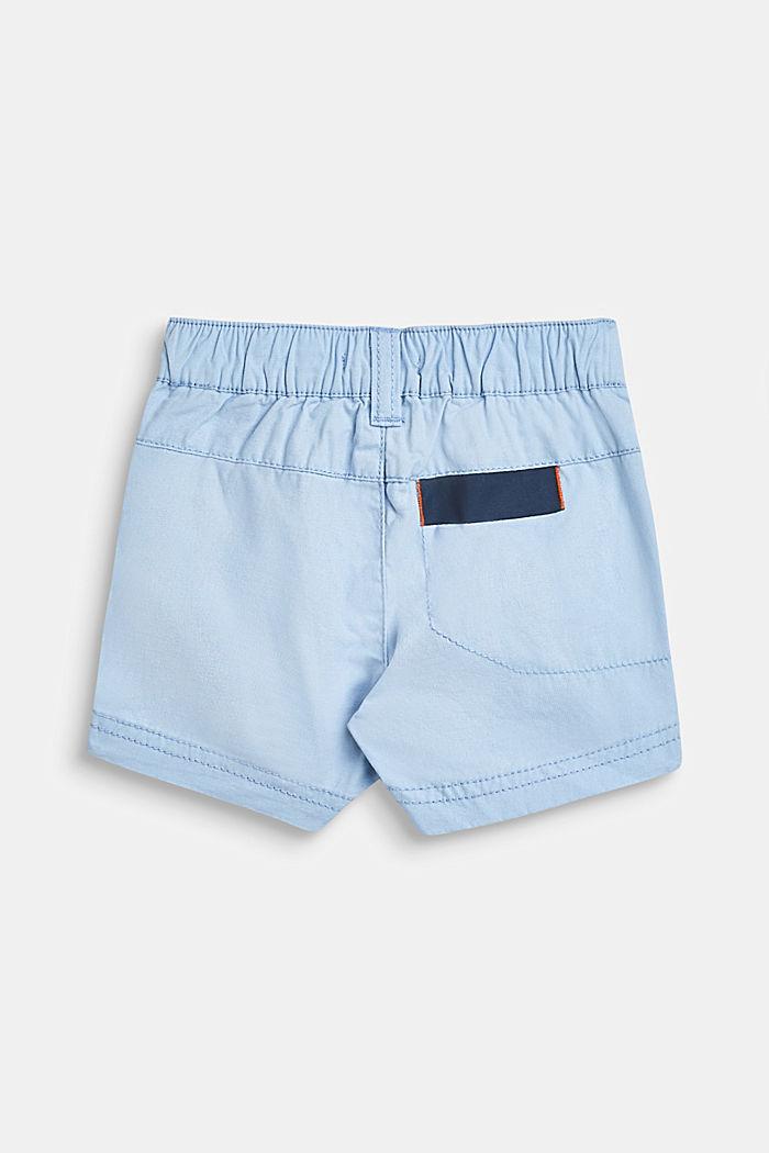 Shorts con cintura elástica, 100% algodón, LCSKY BLUE, detail image number 2