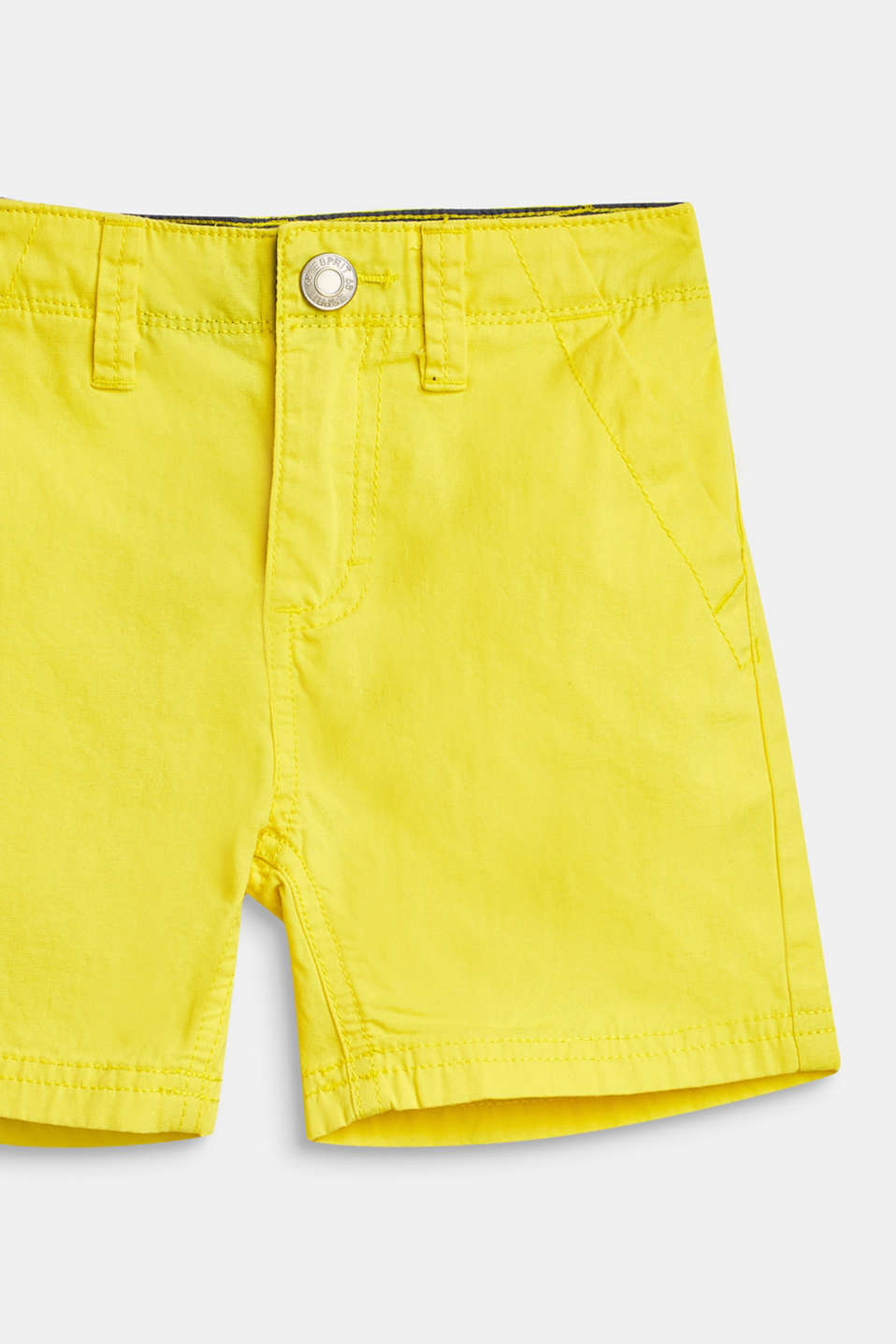 Shorts woven, LCBRIGHT YELLOW, detail image number 1