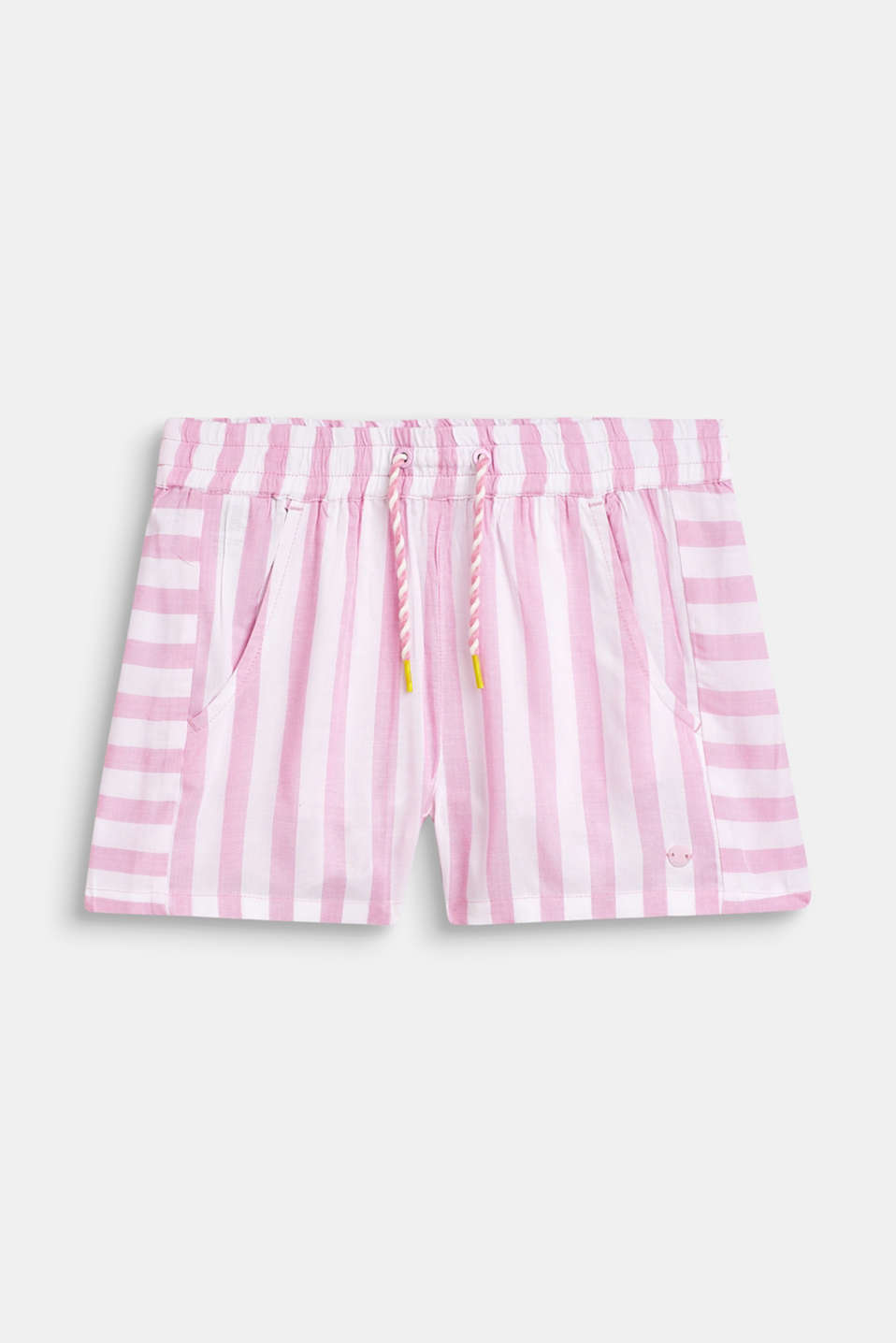 Esprit - Striped shorts, 100% viscose