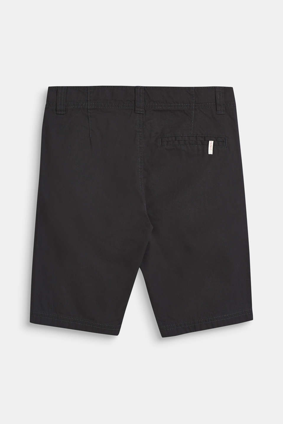 Bermuda shorts in 100% cotton, LCDARK GREY, detail image number 1