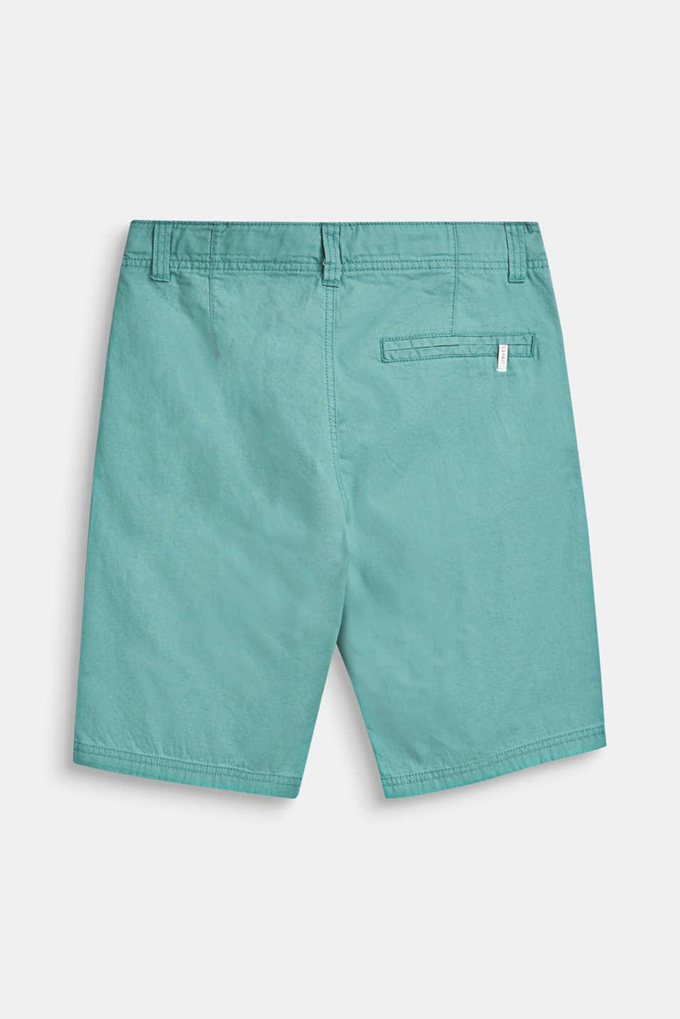 Bermuda shorts in 100% cotton, LCSOFT GREEN, detail image number 1