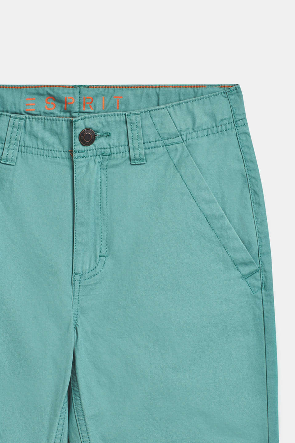Bermuda shorts in 100% cotton, LCSOFT GREEN, detail image number 2