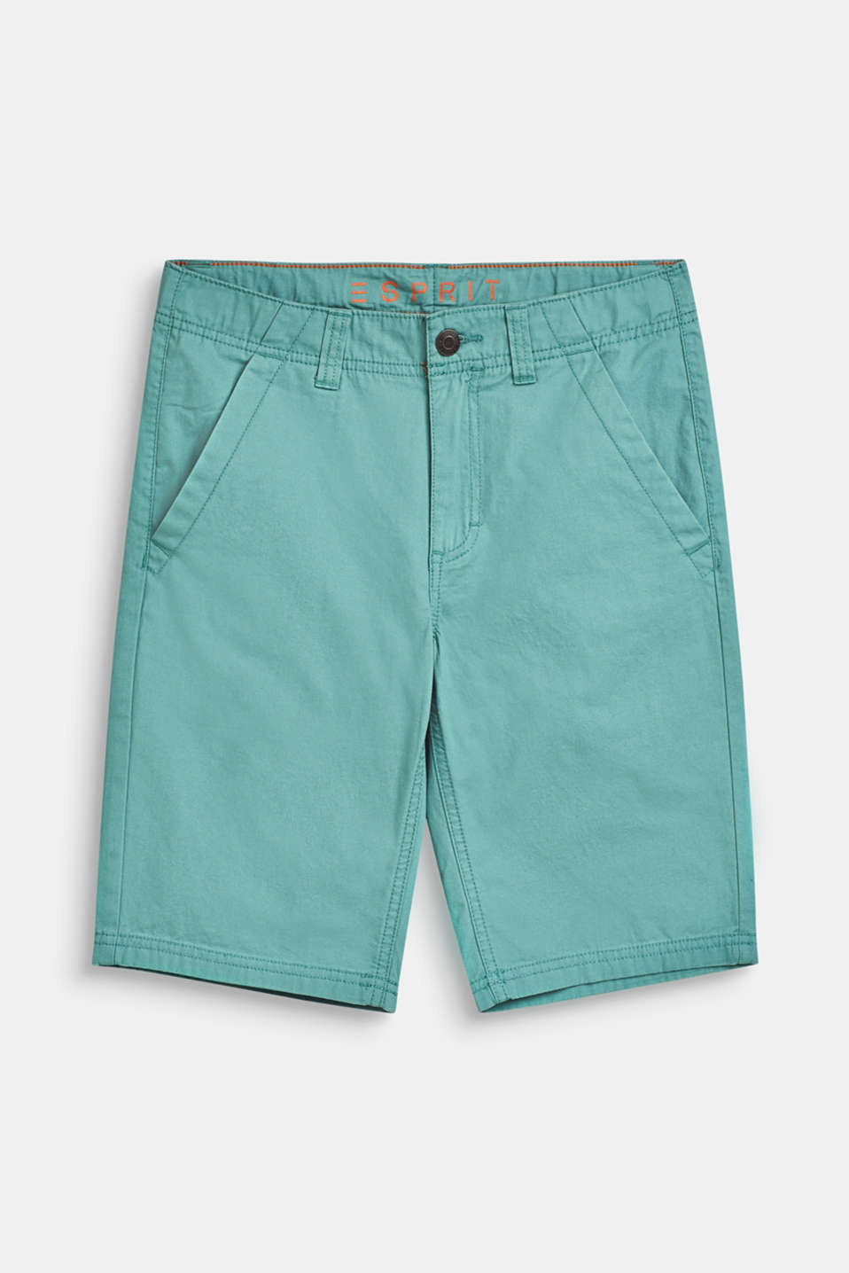 Bermuda shorts in 100% cotton, LCSOFT GREEN, detail image number 0