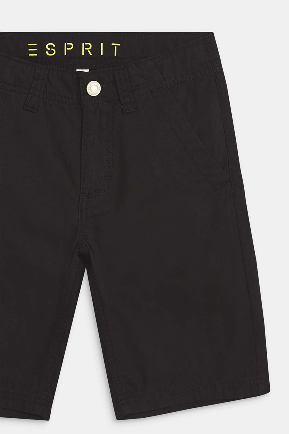 Bermudas in 100% cotton, LCANTHRACITE, detail image number 1