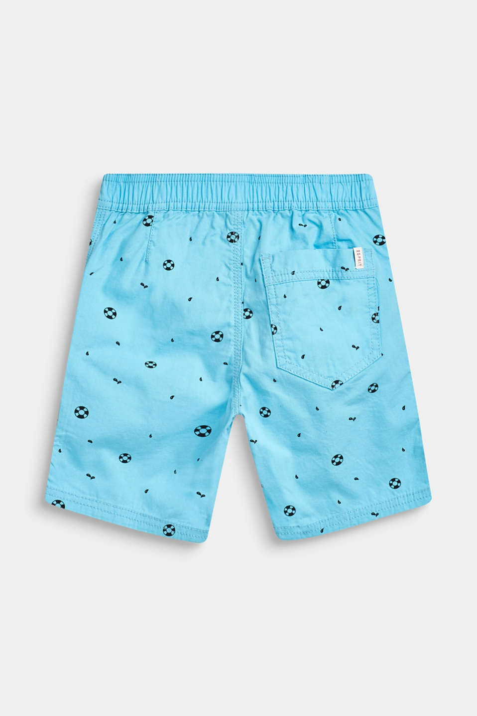 Nautical print Bermudas, 100% cotton, AQUARIUS, detail image number 1