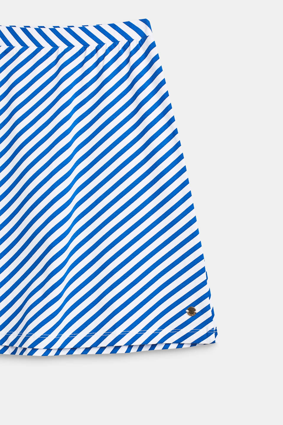 Striped stretch jersey skirt, LCINFINITY BLUE, detail image number 2