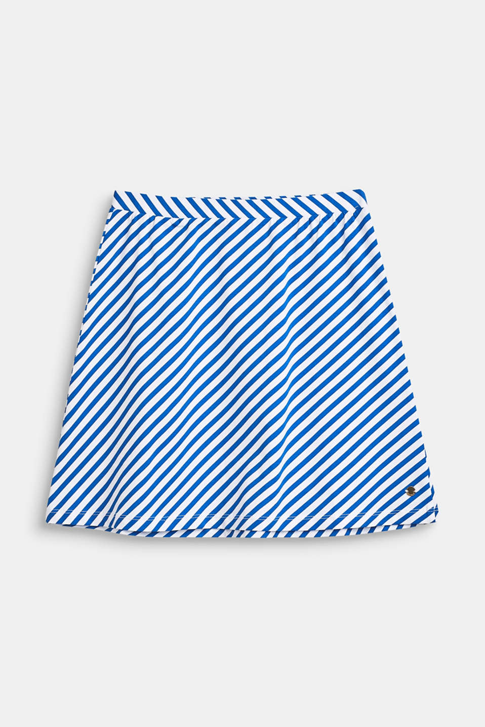 Striped stretch jersey skirt, LCINFINITY BLUE, detail image number 0