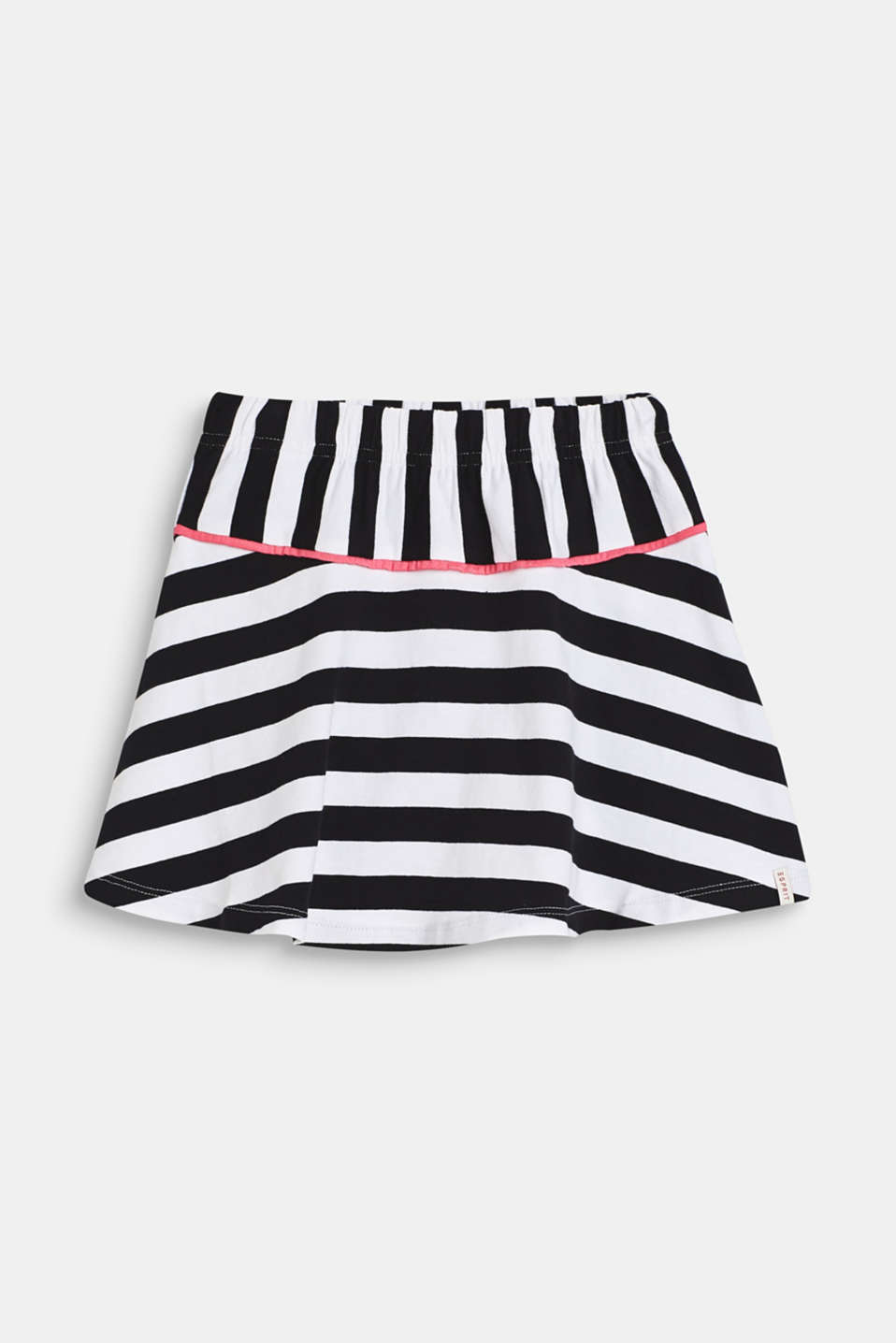 Esprit - Striped jersey skirt