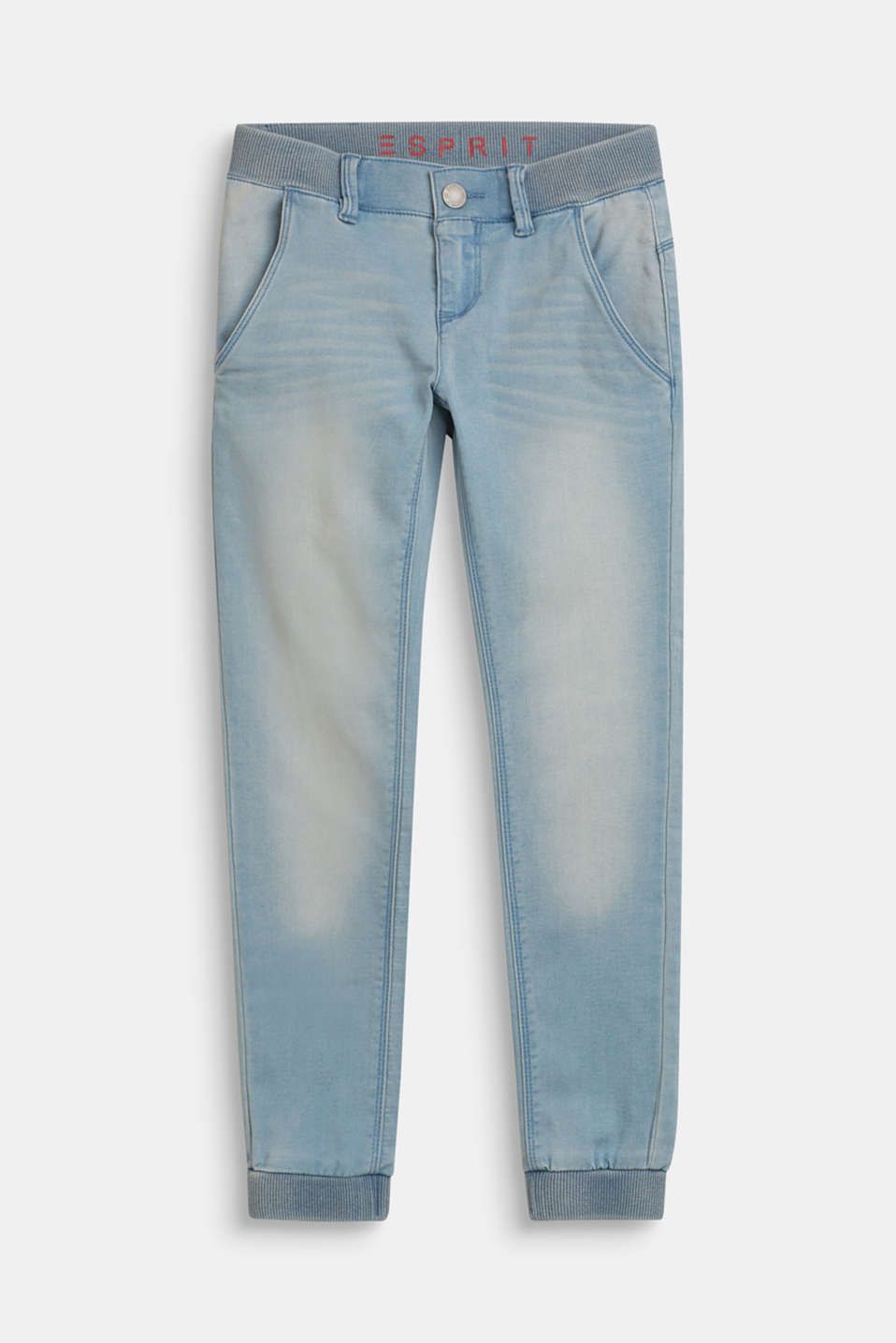 Esprit - Jean stretch de qualité molletonnée confortable