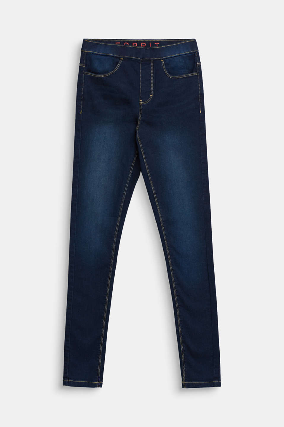 Esprit - Tregging in denim look
