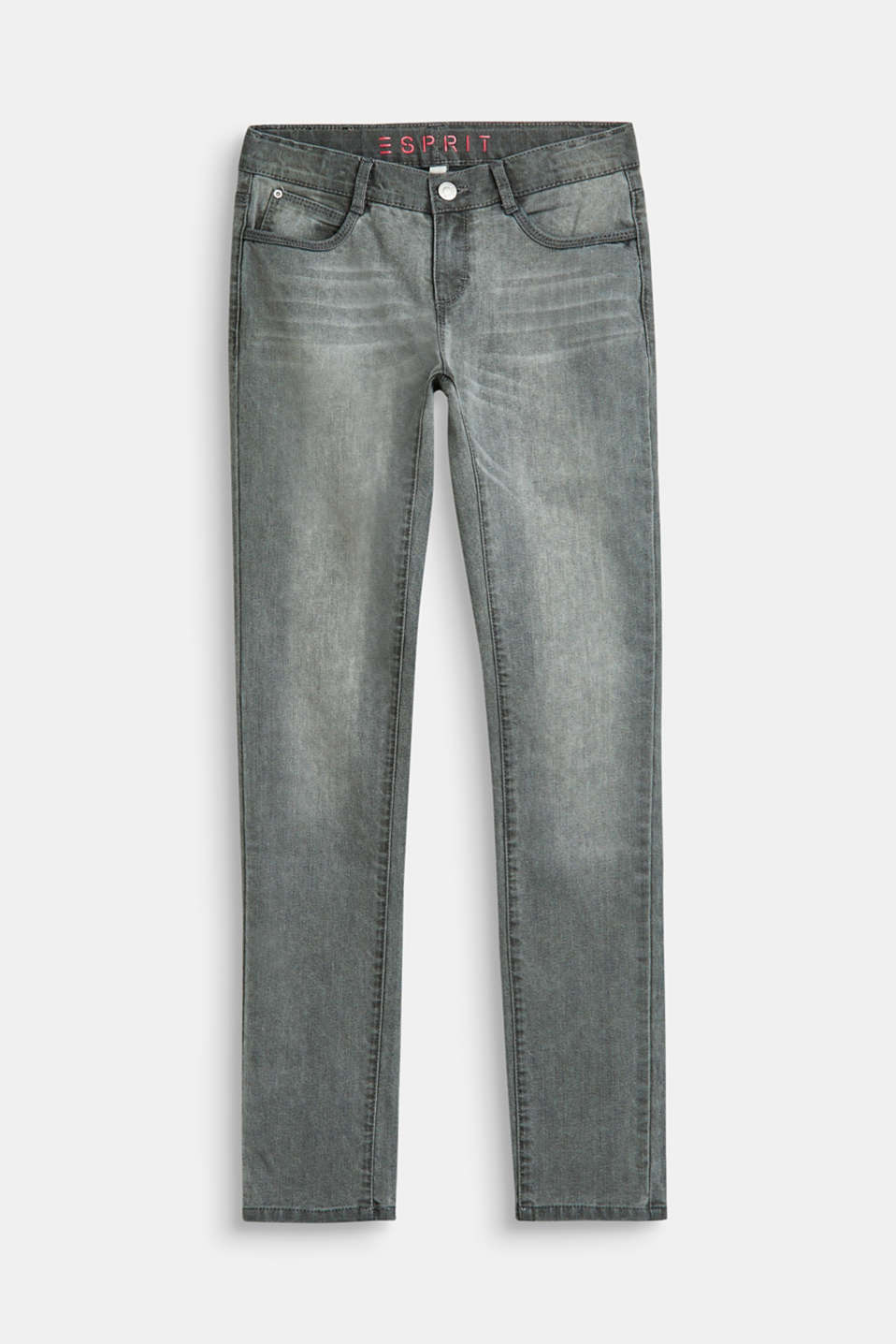 Esprit - Superstretch-jeans med used-vask