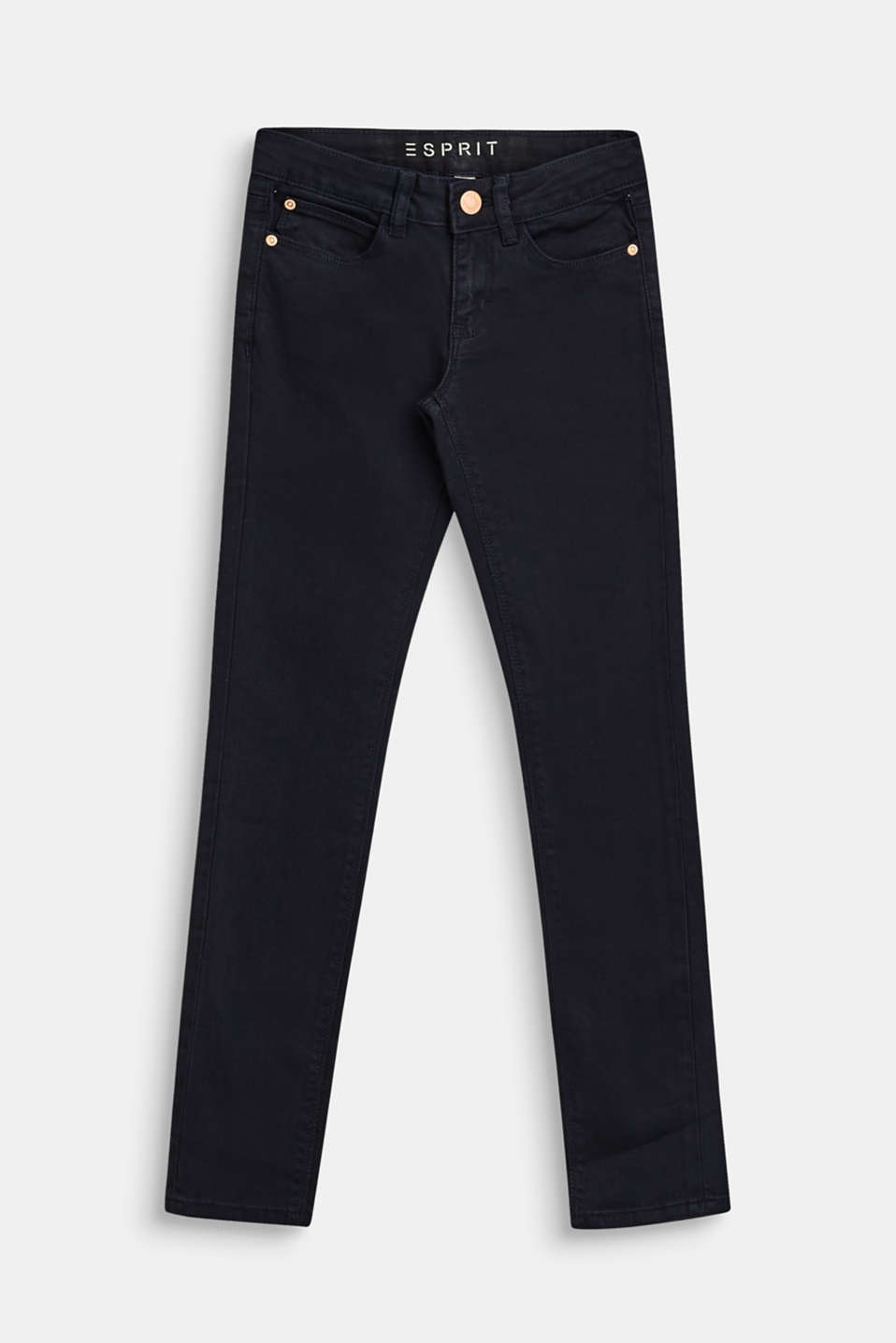 Esprit - Colored Stretch-Denim mit Verstellbund